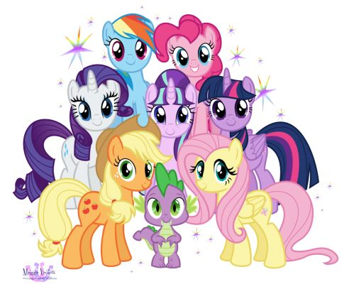 My Little Pony clipart group friend Pony Pin on on images