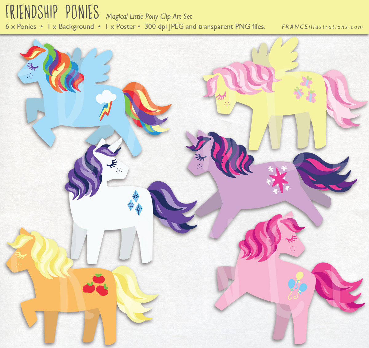 My Little Pony clipart horse Is Magic Set Little Clip