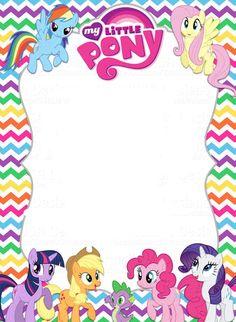 My Little Pony clipart littl Little Ideas template party Birthday