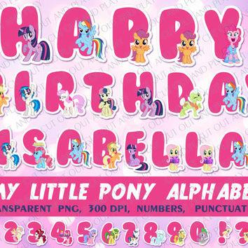 My Little Pony clipart littl Elements party on Party Alphabet
