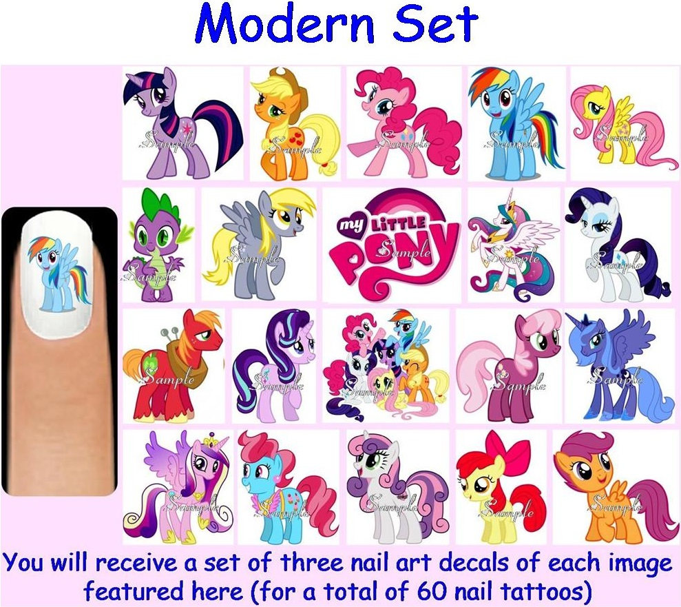 My Little Pony clipart original  Decals Art $6 15+