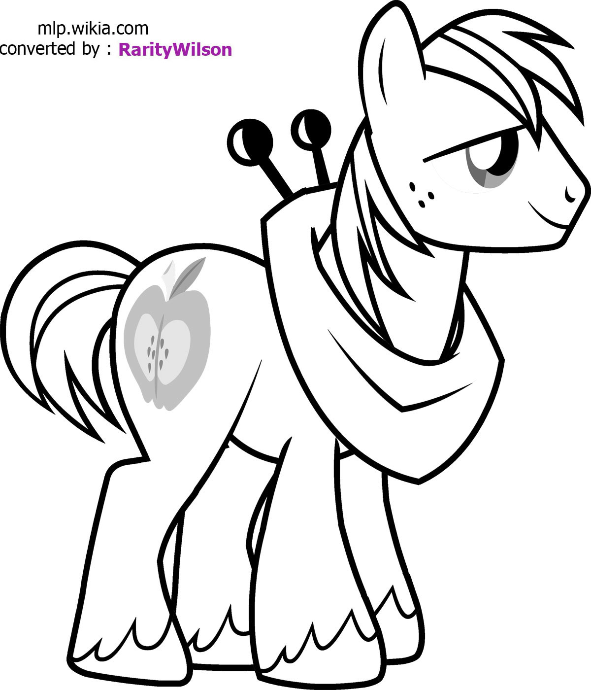 My Little Pony clipart printable coloring page Pages Coloring coloring pages Pinterest