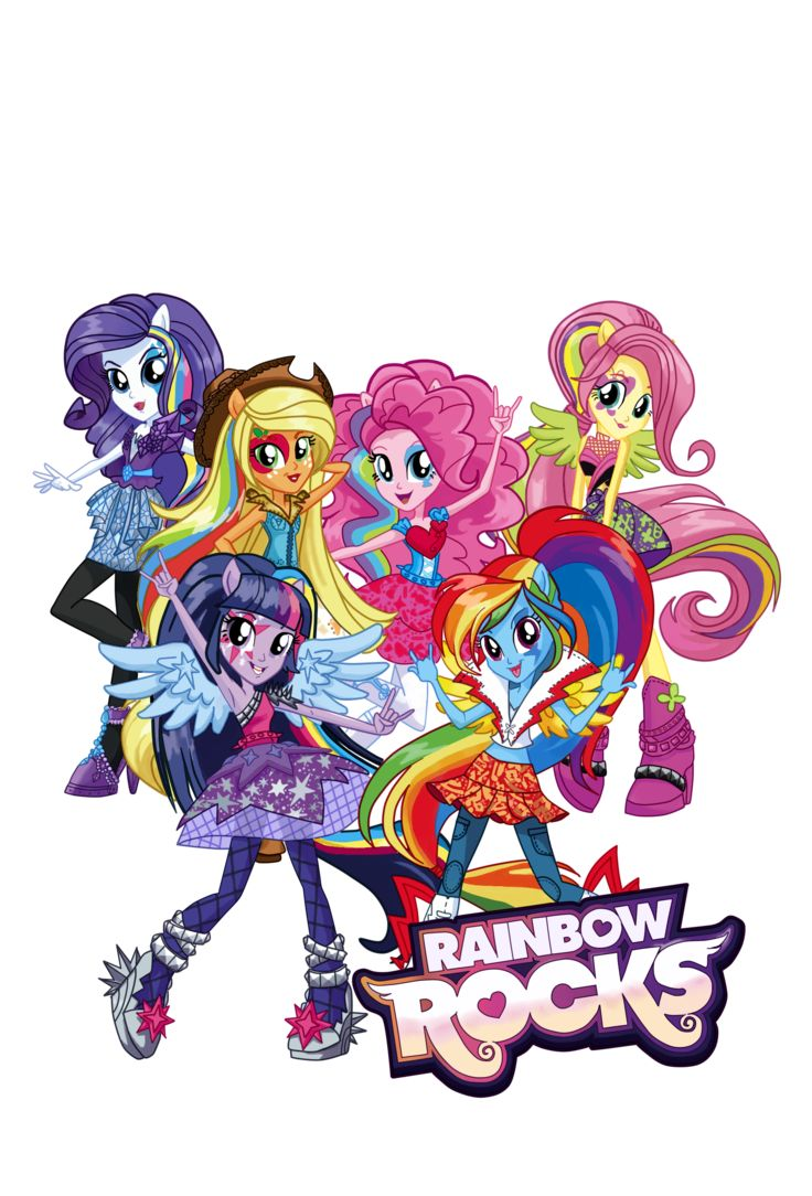 My Little Pony clipart rainbow rock Pinterest about girls My Find