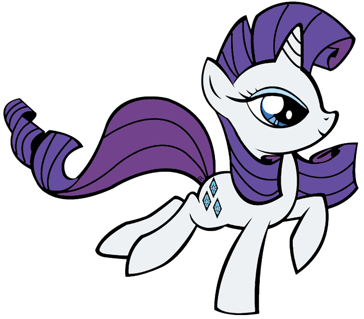 My Little Pony clipart rarity  Images My Pony Rarity