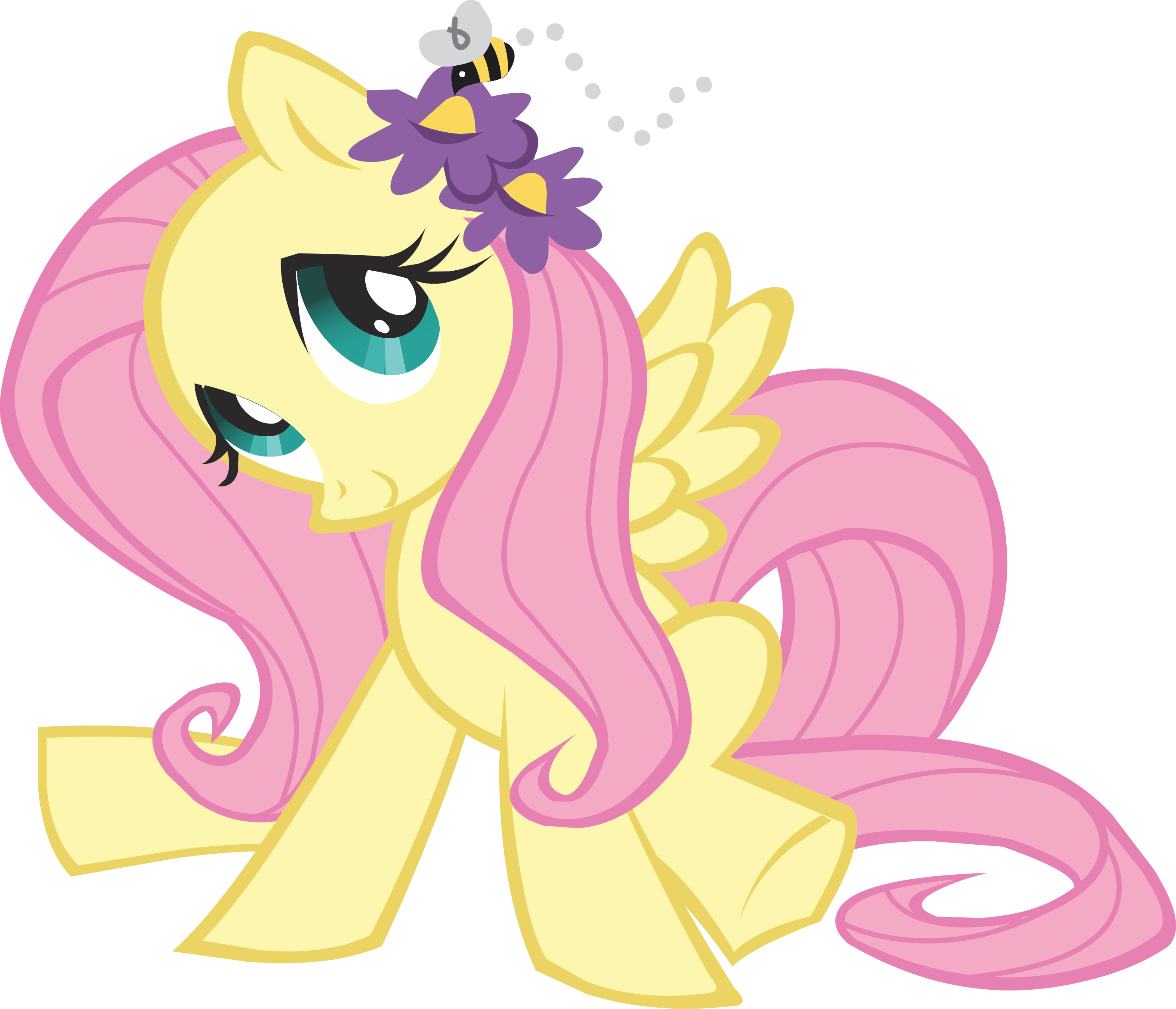 My Little Pony clipart shy A  Pinterest flowers and
