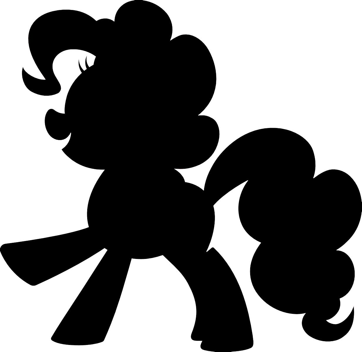 Pies clipart silhouette Pony shirt! Little Doodlecraft: shirt!
