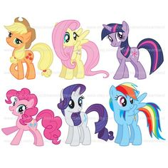 My Little Pony clipart title Horse  de Girls Digital