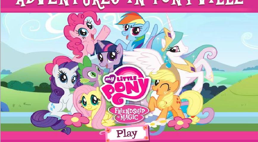 My Little Pony clipart title Is Image My Title AiP