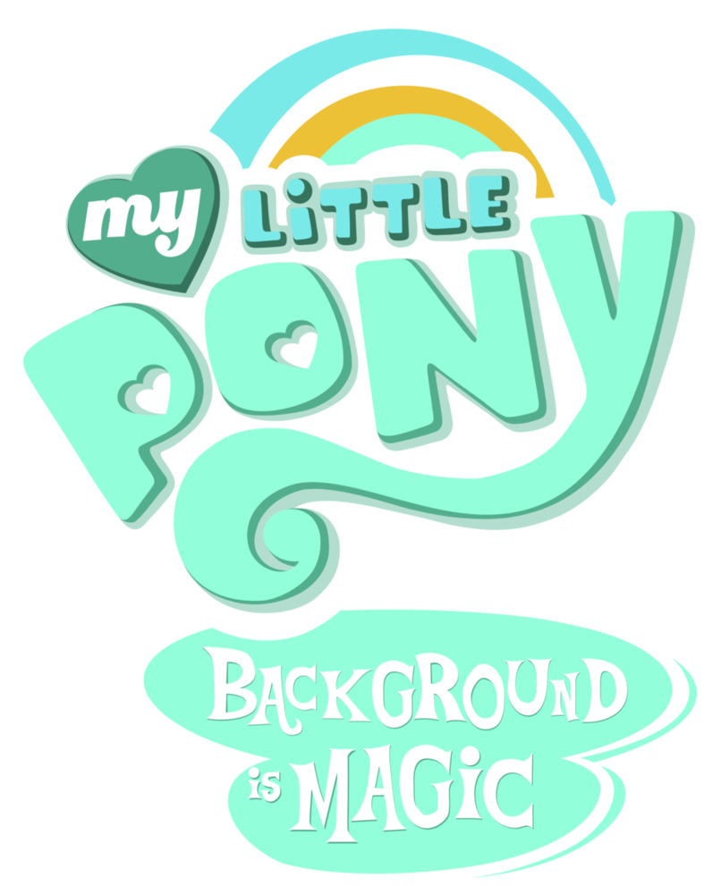 My Little Pony clipart title Background by My  is