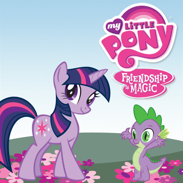 My Little Pony clipart title Friendship Card is Image Little