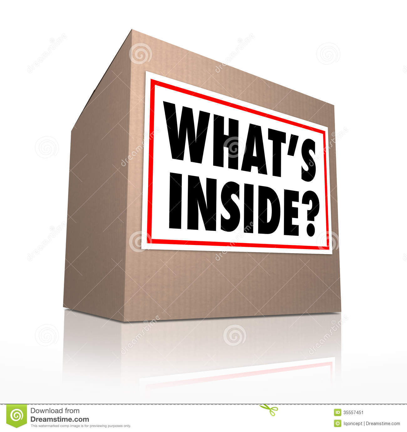 Mystery clipart any question Delivery Mystery collection Box What's