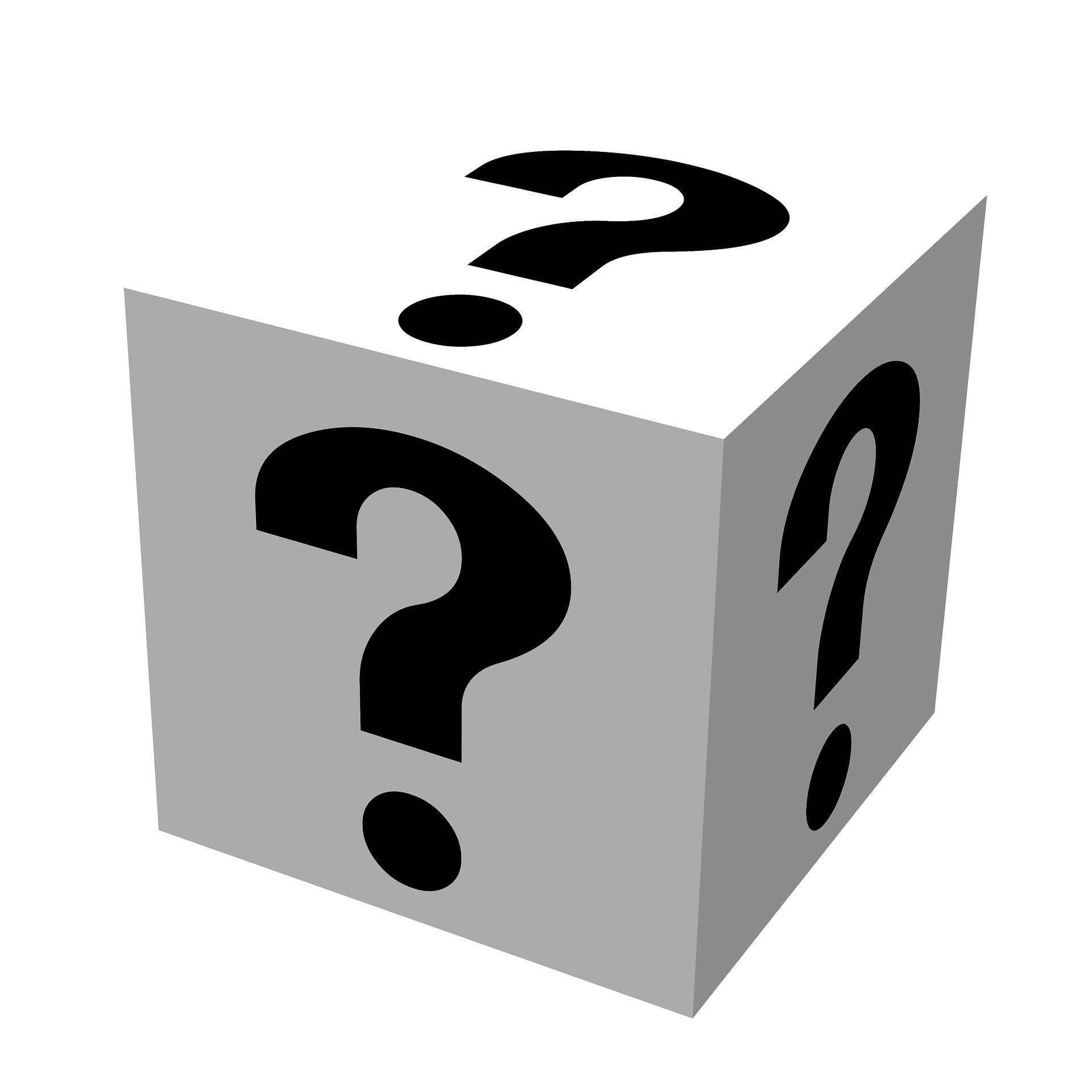 Mystery clipart any question P4 Consulting Questions  Asking