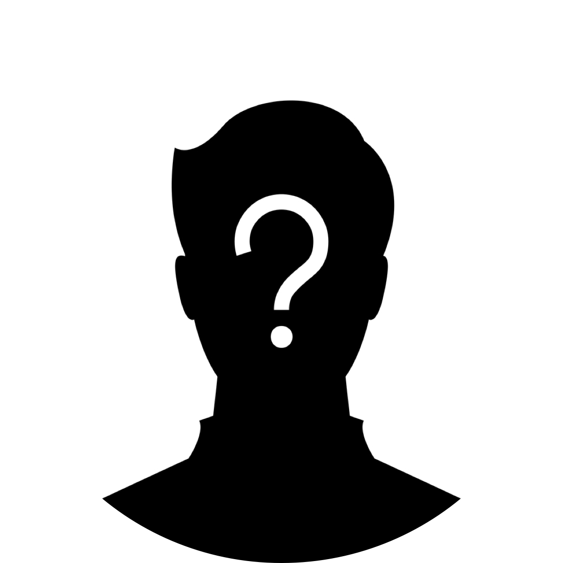 Mystery clipart confused person Mystery Person png person Mystery
