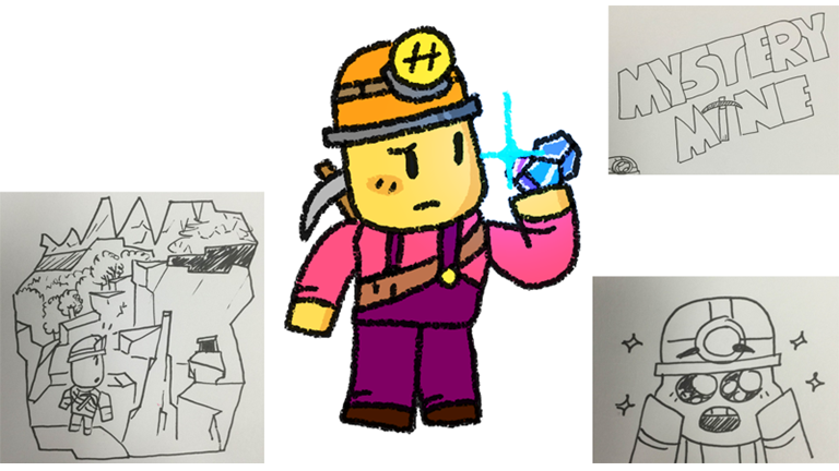 Mystery clipart exploration Mine (early Roblox Mine (early