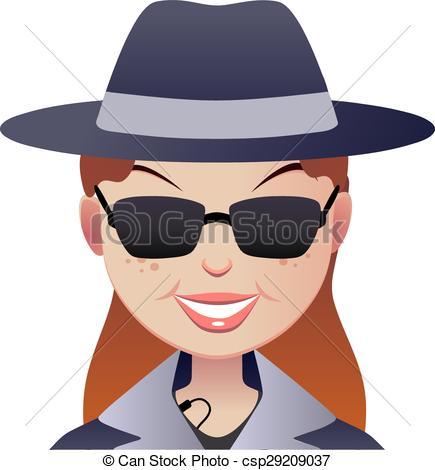 Mystery clipart face #4