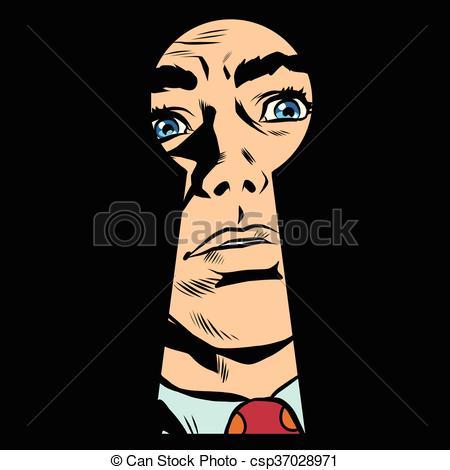 Mystery clipart face #8