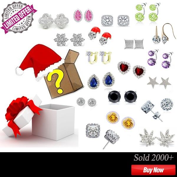 Mystery clipart gift bag Gift Earring UK FAKURMA Mystery