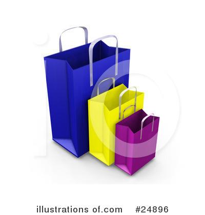 Mystery clipart gift bag KJ (RF) Clipart Illustration Pargeter