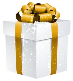 Mystery clipart gift bag Boxes Gift Gold Bow Image
