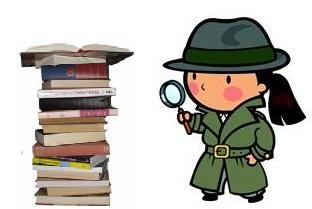 Mystery clipart mystery book #11