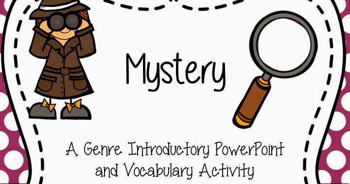 Mystery clipart mystery genre #15