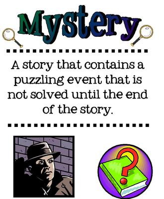 Mystery clipart mystery genre #9