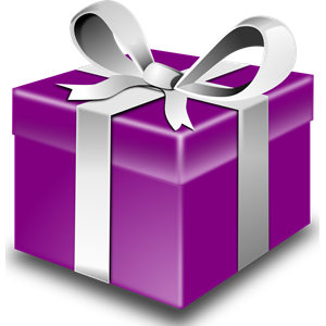 Mystery clipart present Cliparts formats Purple eps download