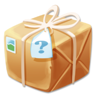 Mystery clipart present Day published Hay Day Mystery