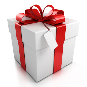 Mystery clipart present Won prize is loriwilde@aol to