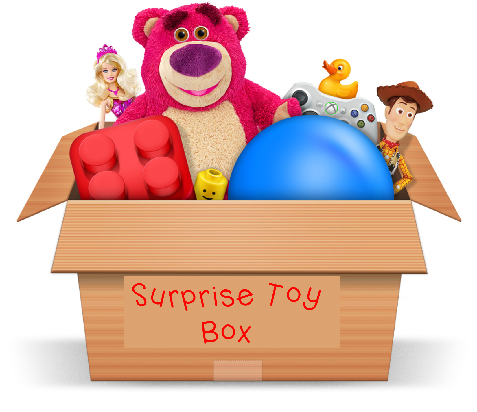 Mystery clipart surprise box #7