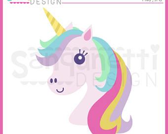 Unicorn clipart rainbow hair Clipart Unicorn Unicorn unicorn clipart