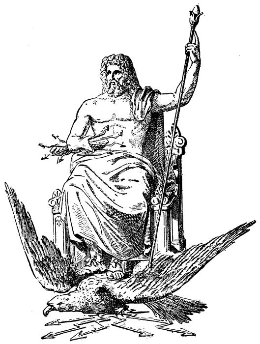 Zeus clipart odysseus The Gods of Zeus The