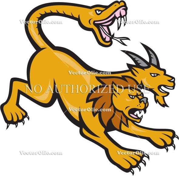 Mythology clipart animal Best Pinterest and attacking creature