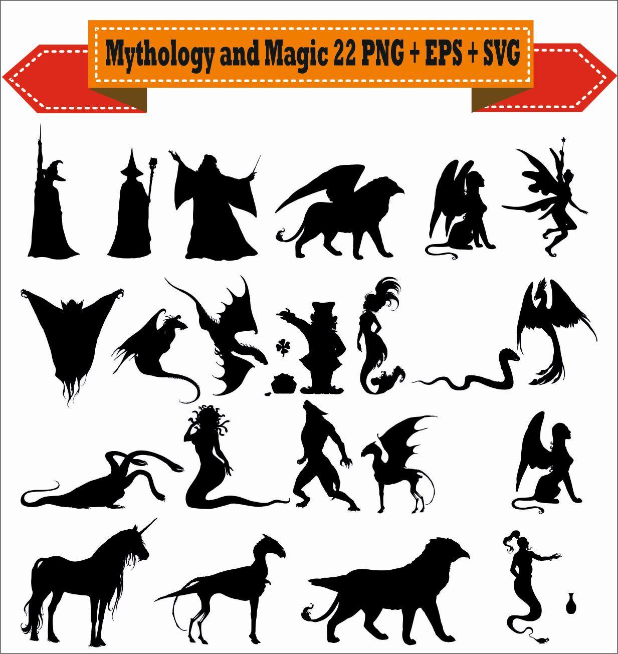 Mythology clipart animal Mythology PNG Instant Supplies Magic