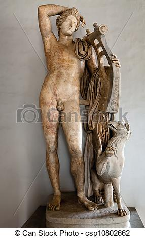 Mythology clipart apollo lyre Holding lyre Ancient Apollo