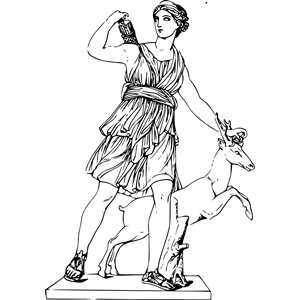 Mythology clipart greek statue Emf of cliparts (wmf clipart