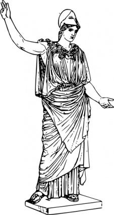 Mythology clipart greek statue 515 Ancient art Art clip