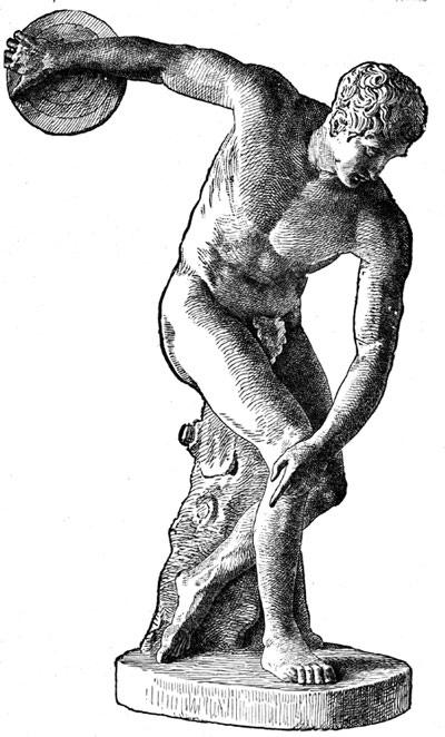 Mythology clipart greek statue By ancient aegean's statues theseus