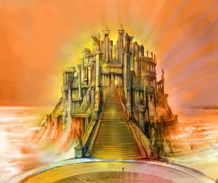 Mythology clipart mount olympus Best Project images use Sophocles