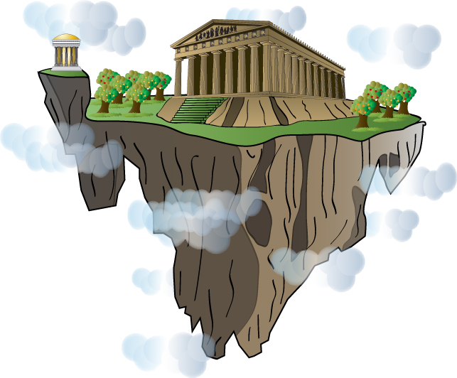 Mythology clipart mount olympus Distraction Olympus Gods of the