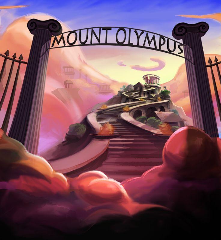 Mythology clipart mt olympus Percy Colour DeviantArt Olympus Key