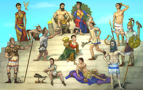 Mythology clipart mt olympus Religion we report Greek this