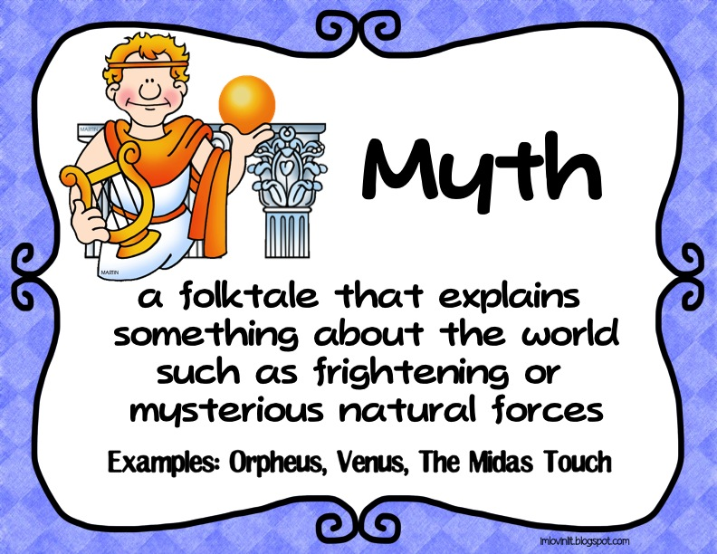 Mythology clipart myth legend Just and Lovin' are folktales