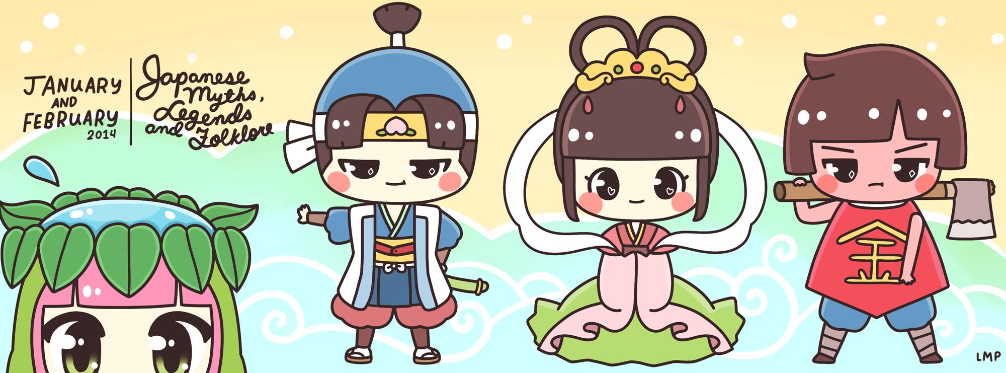 Mythology clipart myth legend Folklore! Japanese Legends Lover Japanese
