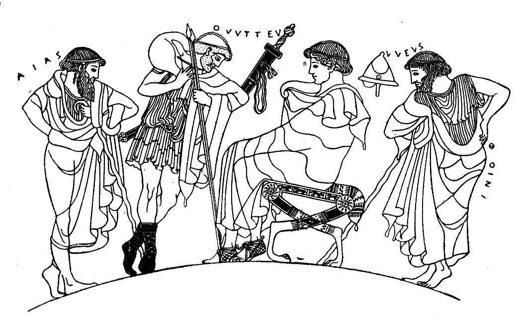 Achilles clipart odysseus Phoenix Achilles and Religion and