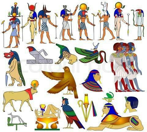 Mythology clipart polytheism Egypt Ancient Egyptian Free Clip