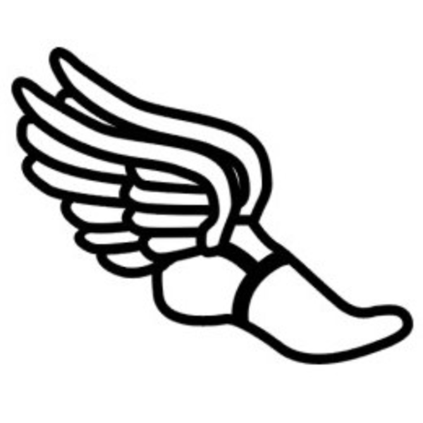 Mythology clipart track foot Clip Track  Shoe Wings