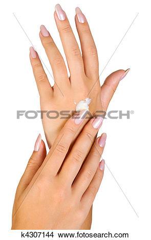 Nail clipart beautiful hand #5