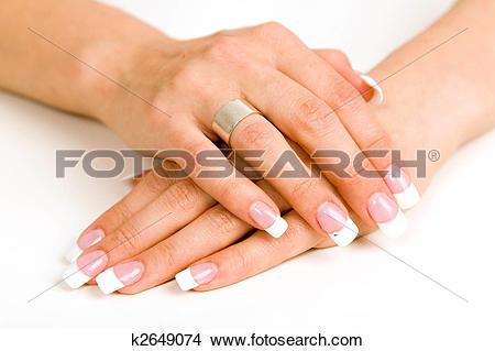 Nail clipart beautiful hand #6