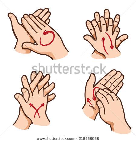 Nail clipart clean Clipart Hands Steps Clean
